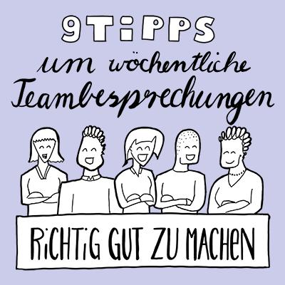 Tipps für bessere Team-Besprechungen und Team-Meetings